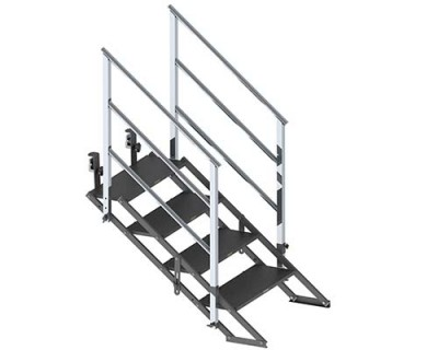 EP-Adjustable folding stair