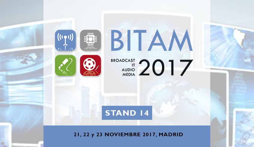 FENIX Stage Platforms will be a key player at BITAM Show fifth edition in Madrid.