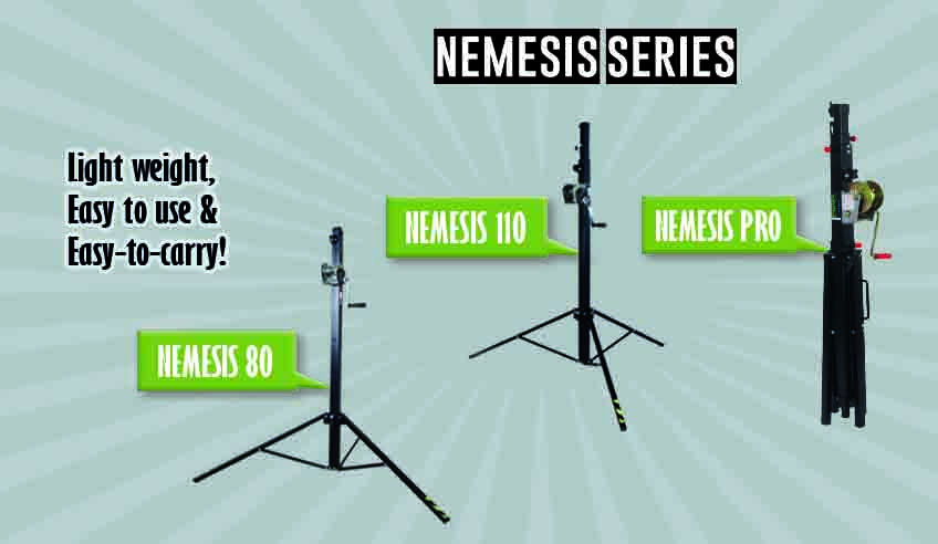 NEMESIS Series: the FENIX lightest telescopic lifting towers