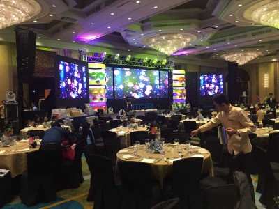 ACC Group Christmas Party @ Dusit Thani Manila Ballroom, Makati City (Philippines)
