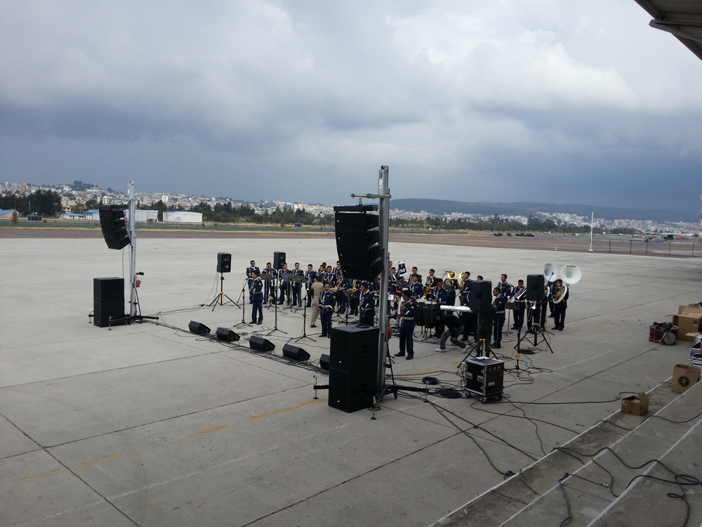 Concert Military Force Band @ Quito (Ecuador)