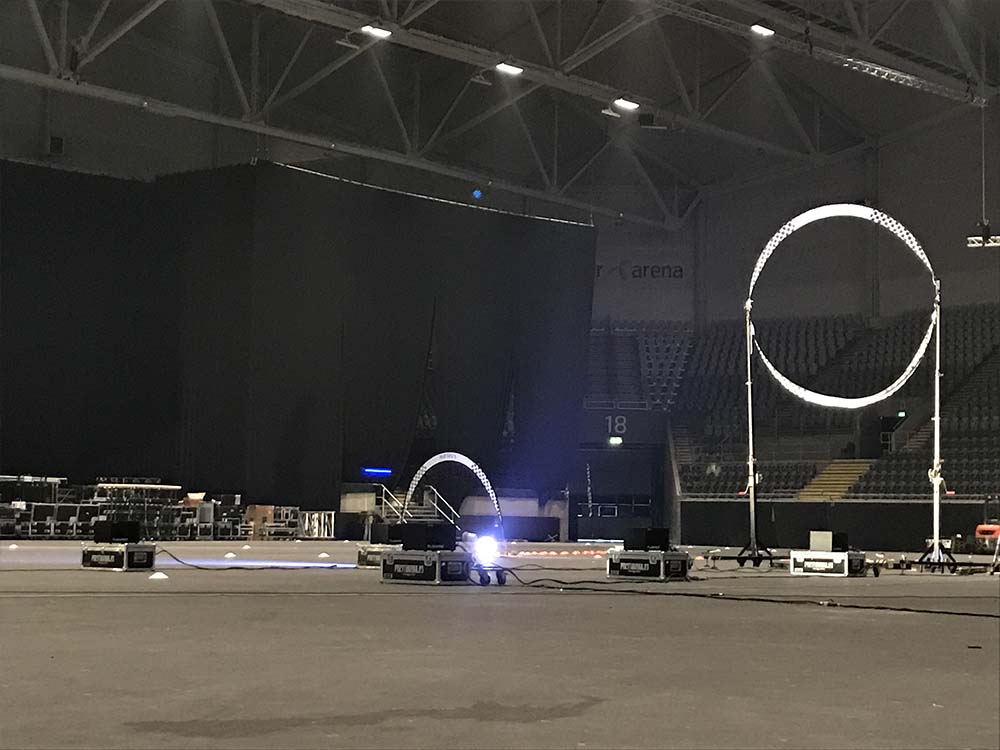 Drone Race Competition @ Telenor Arena, Oslo (Norway)