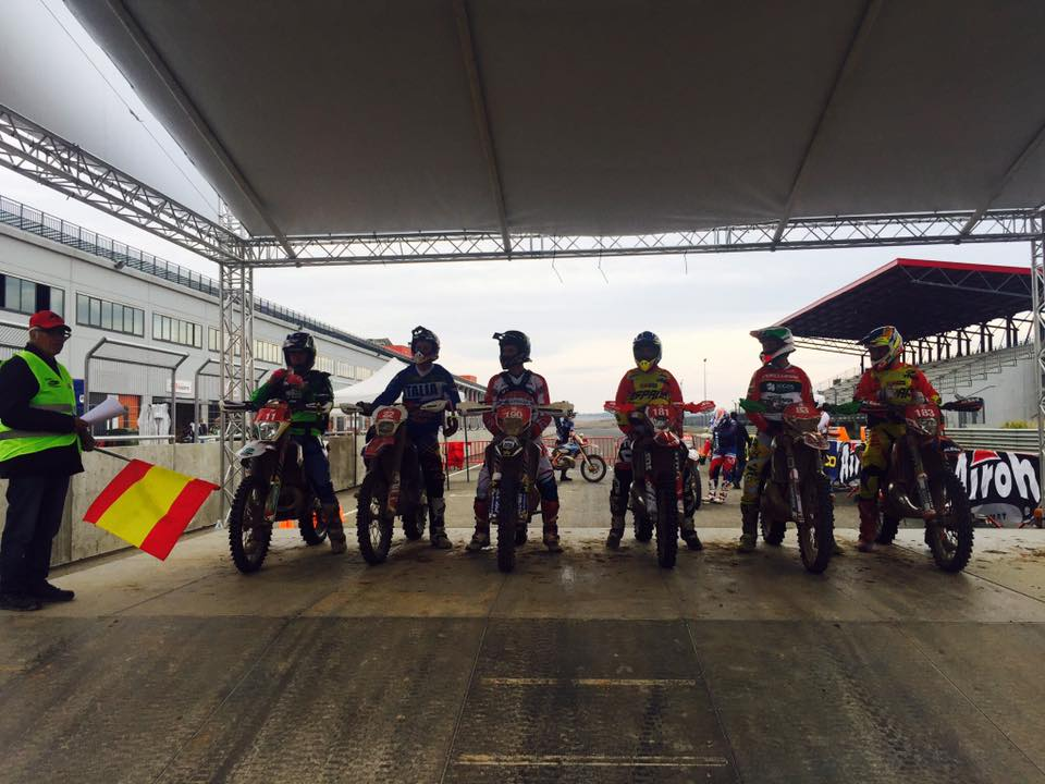 Escenario y podium FIM International ISDE @ Navarra (España)