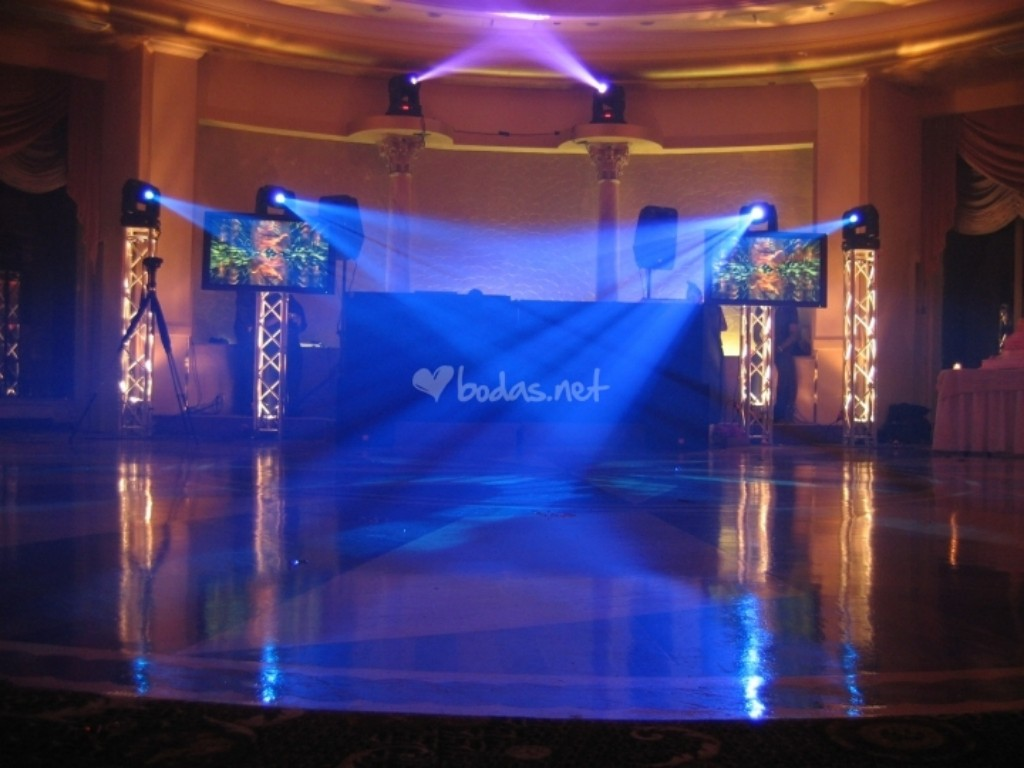 Stage for wedding @ (Spain)