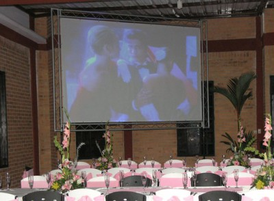 Evento con 3 pantallas LED @ (Colombia)