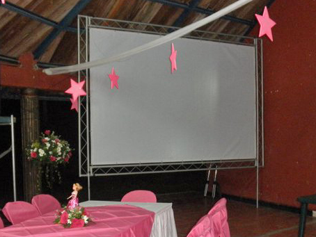3 LED screens event @ (Colombia)