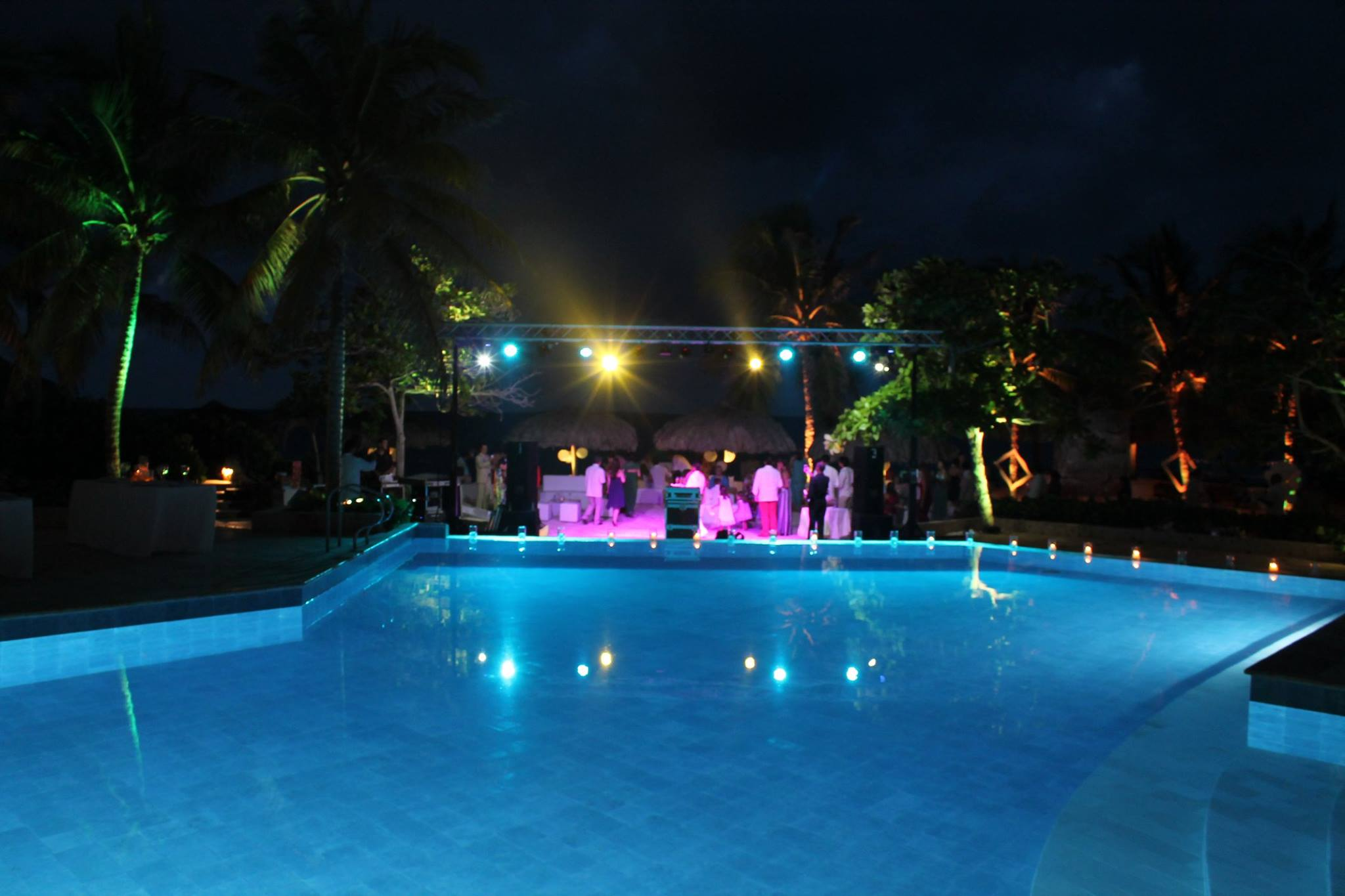 Outdoor event @ Punta Iguana (Colombia)