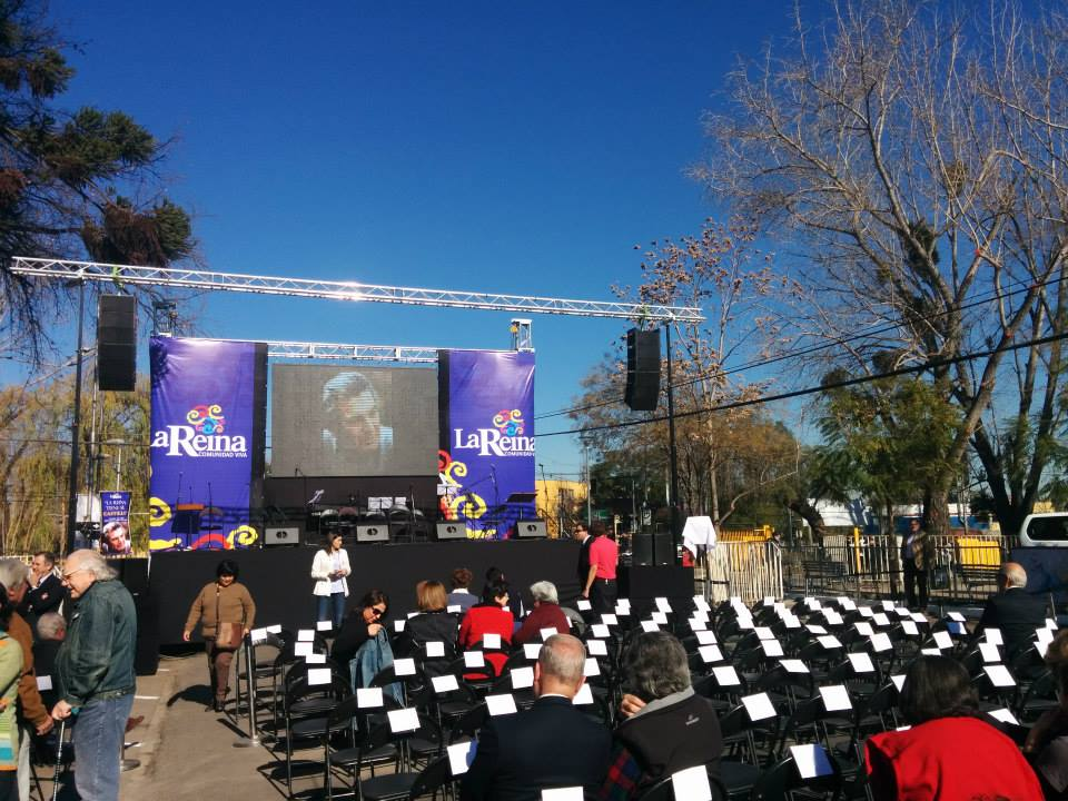 Presidential event with Michelle Bachelet @ (Chile)