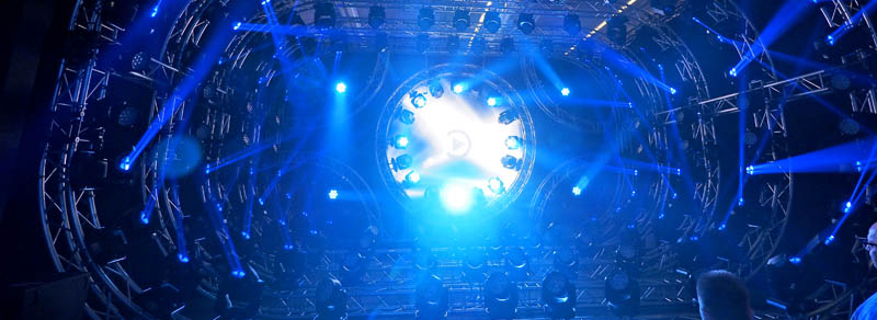 Lightshow @ Prolight & Sound, Frankfurt (Germany)