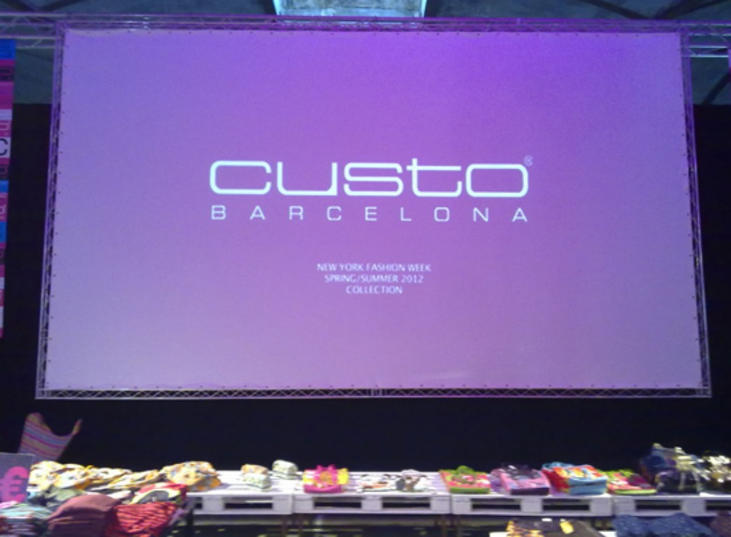 Truss screen CUSTO BCN @ Barcelona, (Spain)