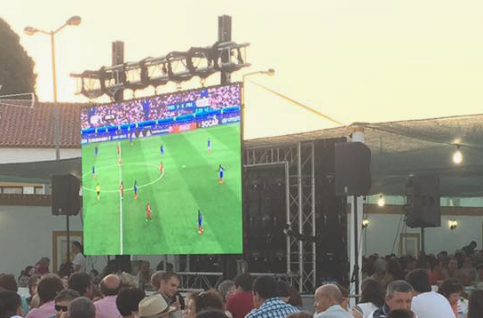 Screens for UEFA Euro2016 @ (Portugal)