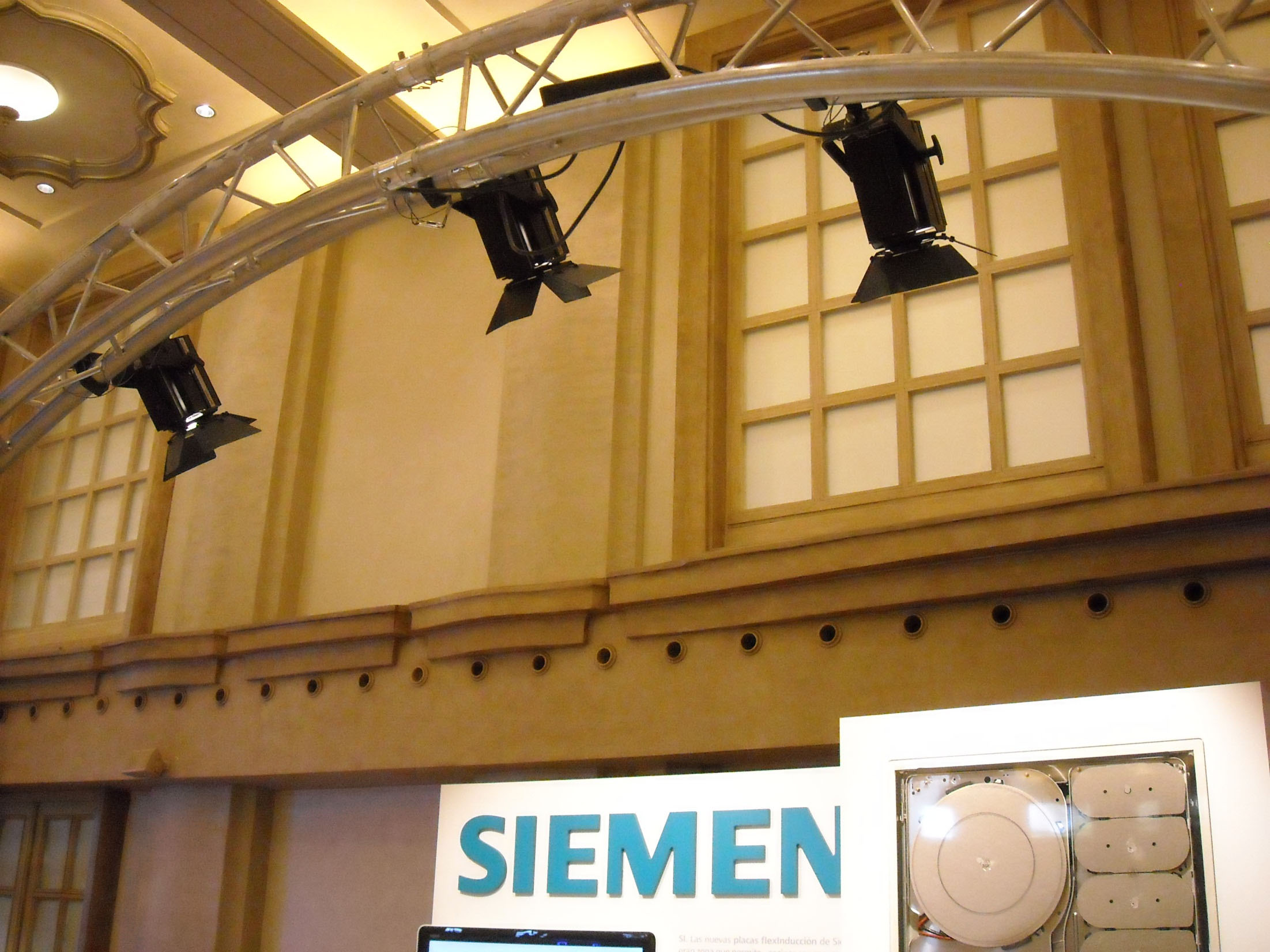 Showroom for a simposium of Siemens 2011 @ Madrid (Spain)