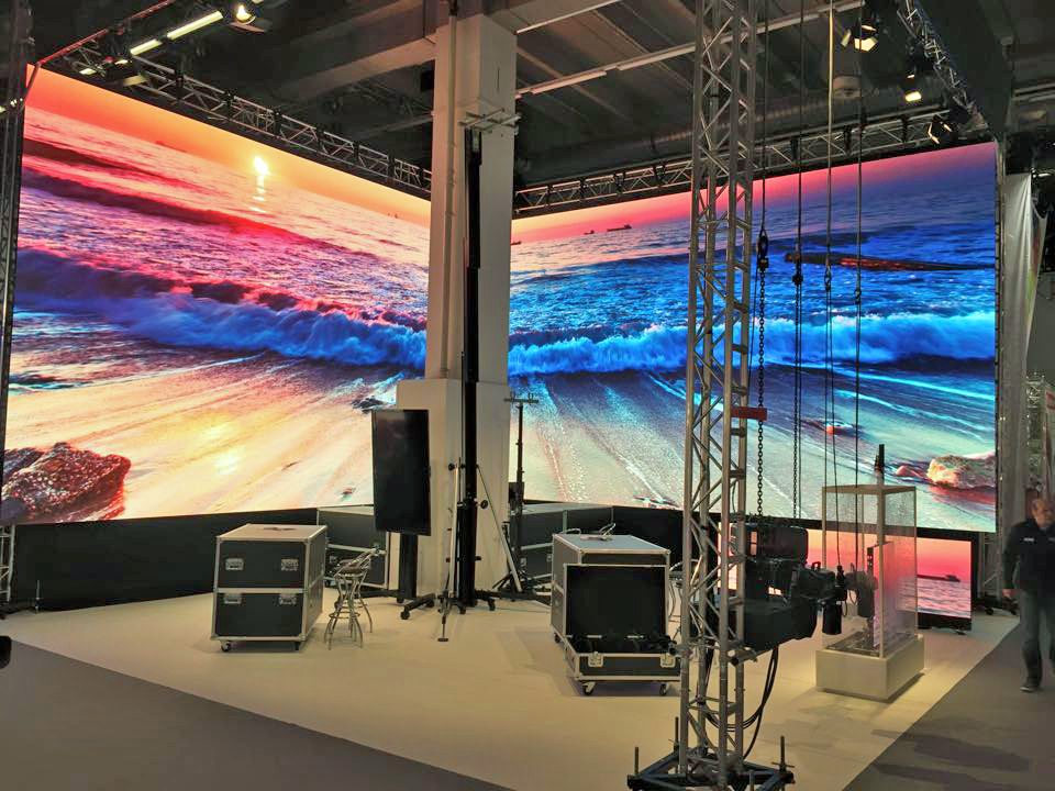 Stand Event Ag Prolight & Sound 2015 @ Frankfurt (Alemania)